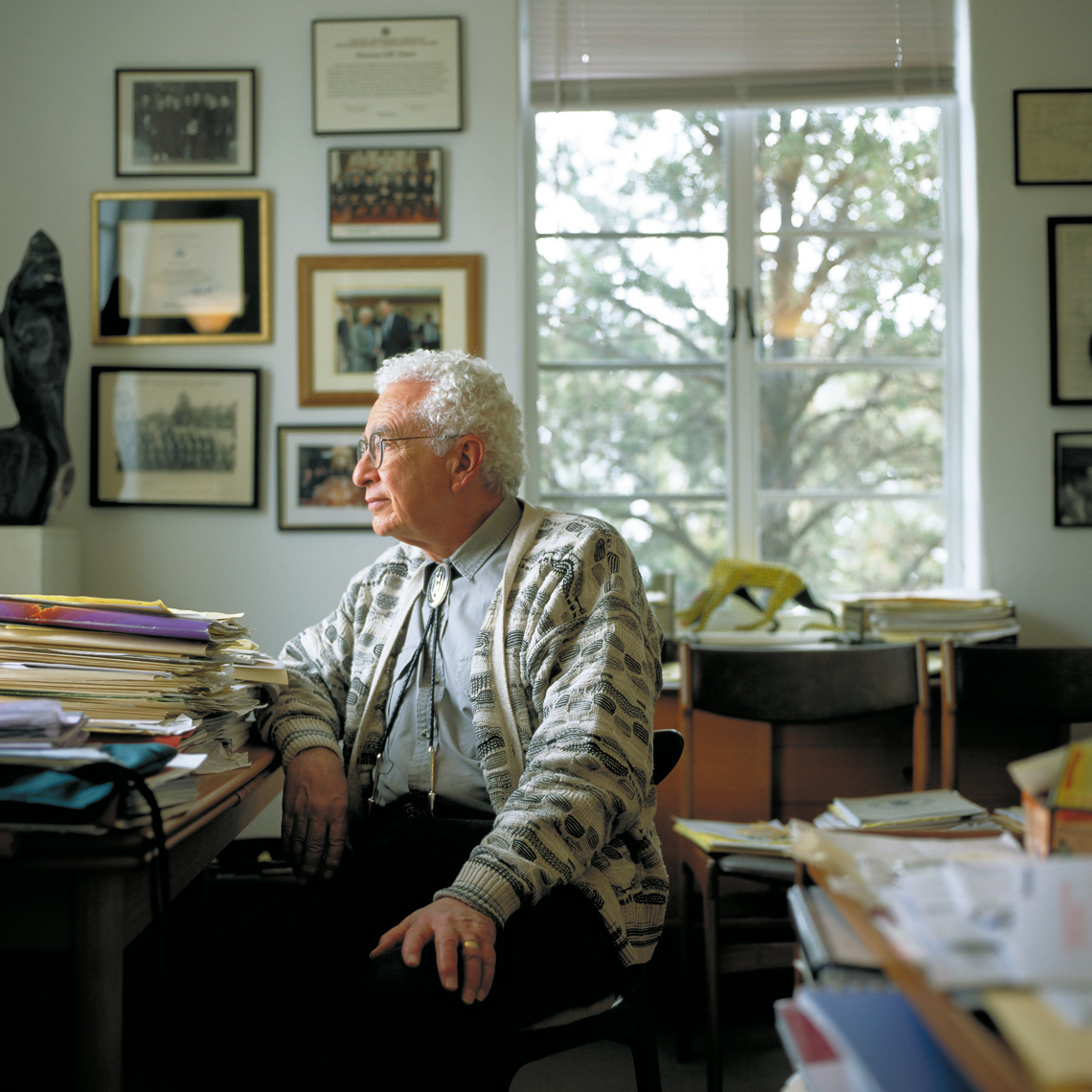 Murray Gell-Mann - Santa Fe Institute - Japanese Newsweek