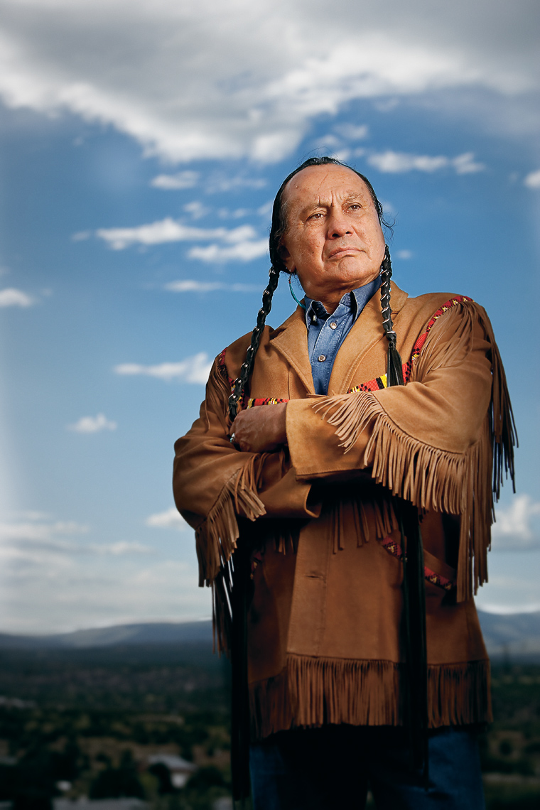 Russell Means - Santa Fean Magazine