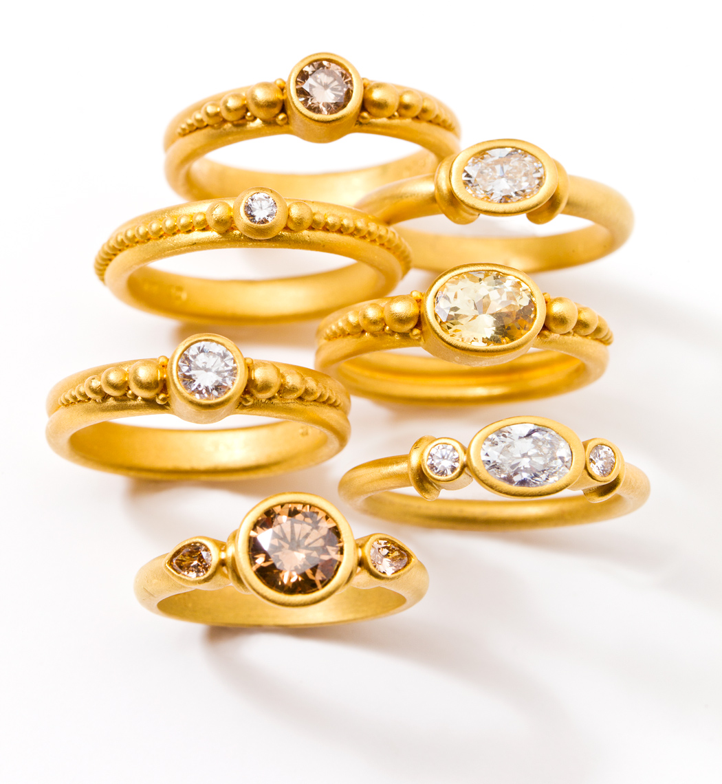 Ring Group - Denise Betesh Jewelry
